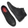 Sneakers da uomo in pelle bata, nero, 894-6295 - 19