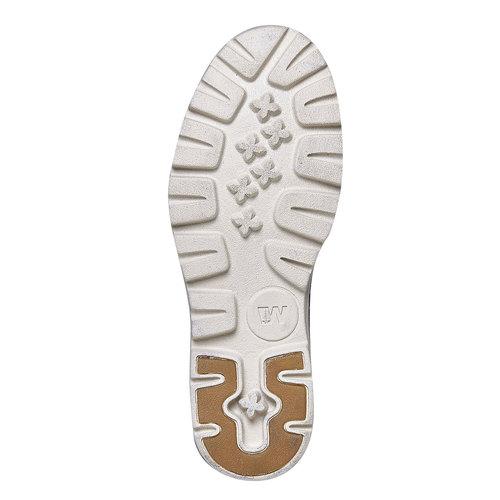 Scarpe da donna sopra la caviglia weinbrenner, blu, 594-9323 - 26