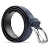 Cintura da uomo in pelle bata, blu, 954-9120 - 26