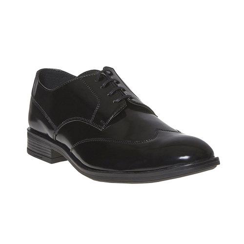 Scarpe basse da uomo in stile Derby bata, nero, 821-6430 - 13