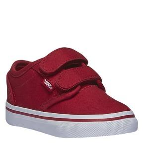 Sneakers da bambino con chiusura a velcro vans, rosso, 189-5160 - 13