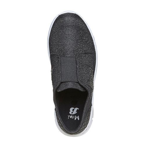 Sneakers argentate da ragazza mini-b, grigio, 329-6214 - 19