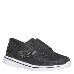 Sneakers argentate da ragazza mini-b, grigio, 329-6214 - 13