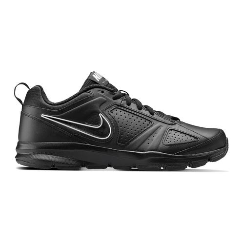 Sneakers sportive in pelle nike, nero, 804-6572 - 26