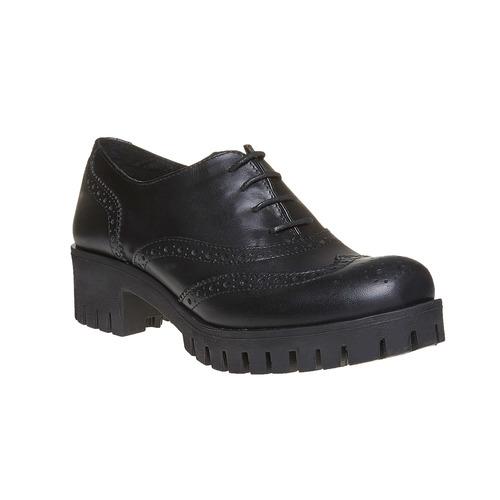 Scarpe basse da donna in pelle bata, nero, 524-6165 - 13