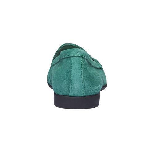 Penny Loafer di pelle flexible, verde, 513-7196 - 17