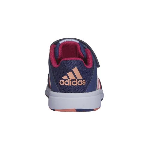 Sneakers sportive da bambino con chiusure a velcro adidas, rosso, 109-5164 - 17
