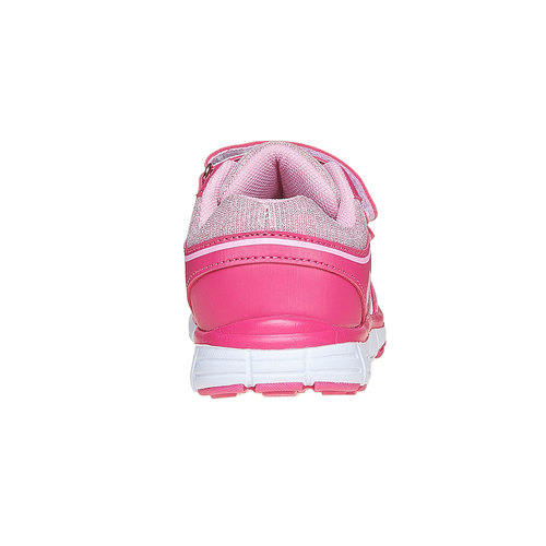 Sneakers rosa da ragazza con chiusure a velcro mini-b, rosa, 229-5175 - 17
