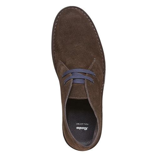 Scarpe alla caviglia in stile Chukka bata, marrone, 893-4275 - 19