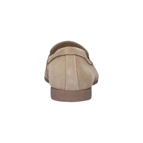 Penny Loafer di pelle flexible, beige, 513-8196 - 17
