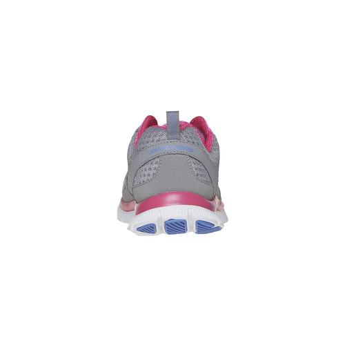 Sneakers sportive da donna skechers, grigio, 509-2456 - 17