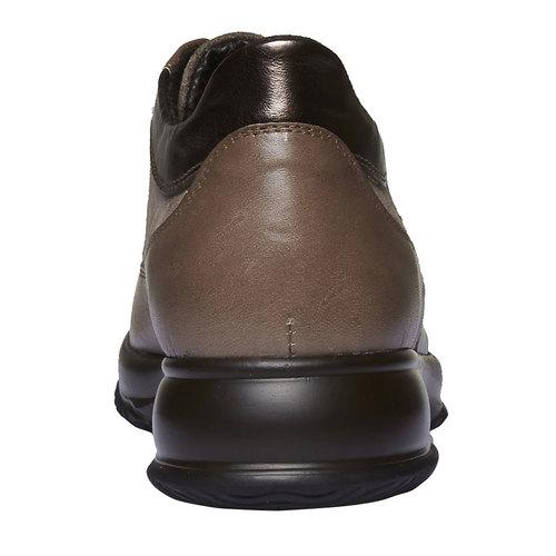 Sneakers da donna di pelle bata, beige, 623-8229 - 17