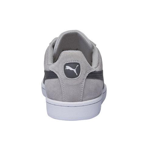 Sneakers in pelle da uomo puma, grigio, 803-2312 - 17