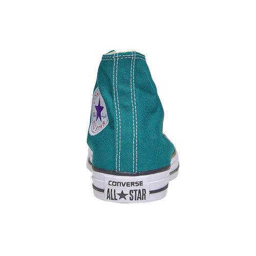 Sneakers da donna alla caviglia converse, verde, 589-9378 - 17