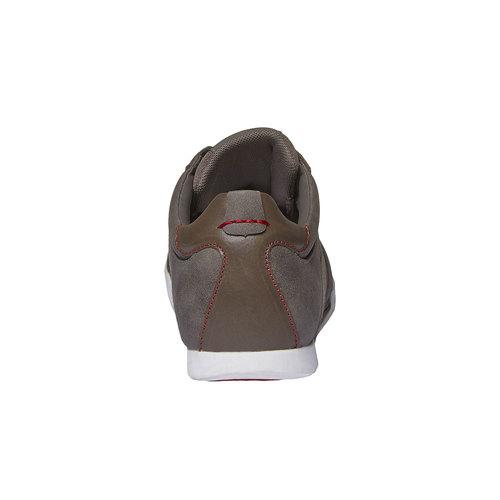 Sneakers di pelle levis, grigio, 844-2261 - 17