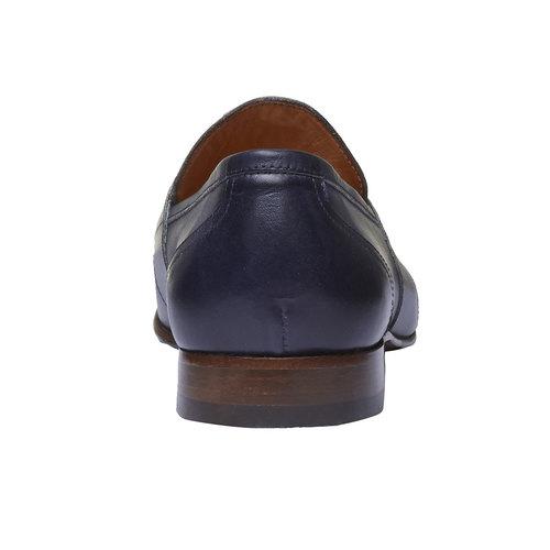 Penny Loafer di pelle bata-the-shoemaker, viola, 814-9146 - 17