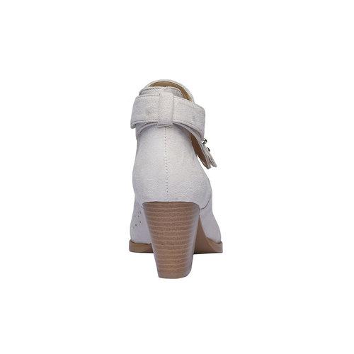 Stivaletti alla caviglia bata, bianco, 799-1627 - 17