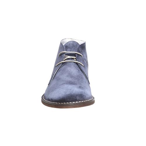 Scarpe scamosciate in stile Desert bata, blu, 843-9267 - 16