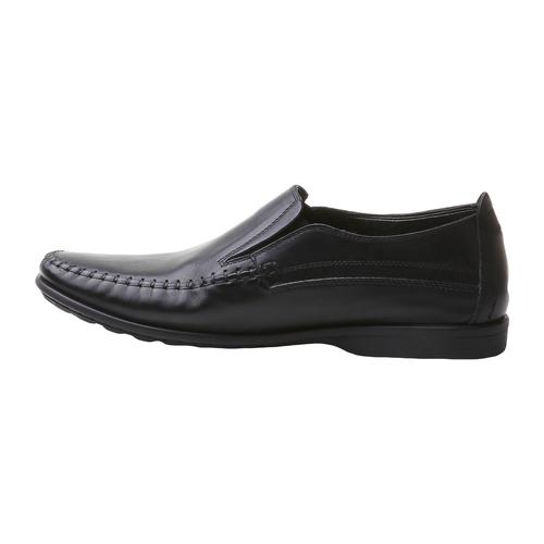 Scarpa casual stile Loafer bata-comfit, nero, 854-6833 - 15