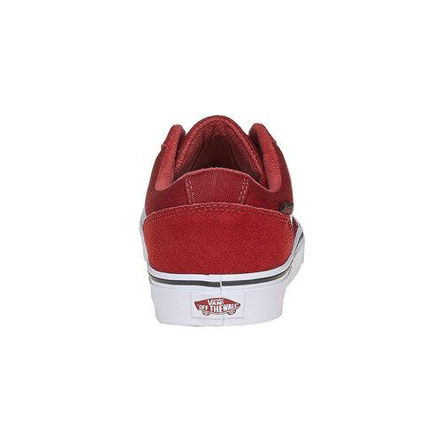 Sneakers da uomo in pelle vans, rosso, 803-5303 - 17