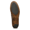 Mocassino in pelle bata, marrone, 814-4128 - 17