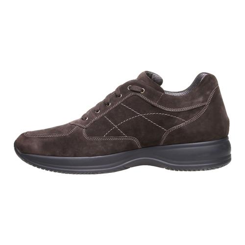 Sneakers di pelle bata, marrone, 843-4315 - 15