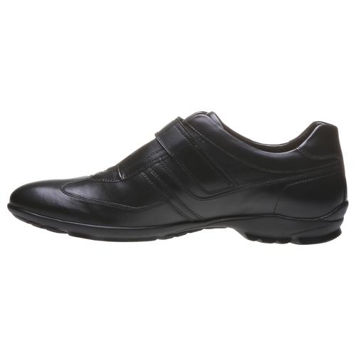Sneakers da uomo in pelle bata, nero, 814-6989 - 15