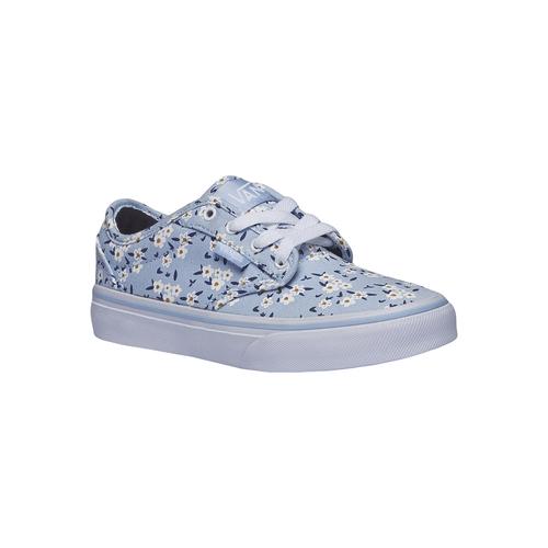 Sneakers da bambina con stampa di fiori vans, viola, 389-9107 - 13