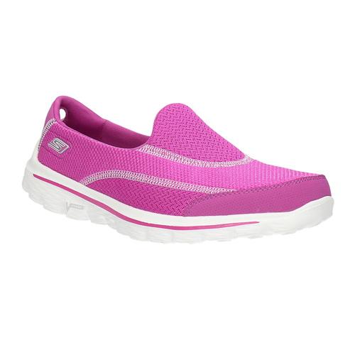 Slip-on sportive skechers, rosa, 509-5708 - 13
