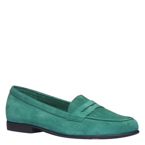 Penny Loafer di pelle flexible, verde, 513-7196 - 13