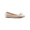 Ballerine da donna bata, beige, 524-8144 - 13