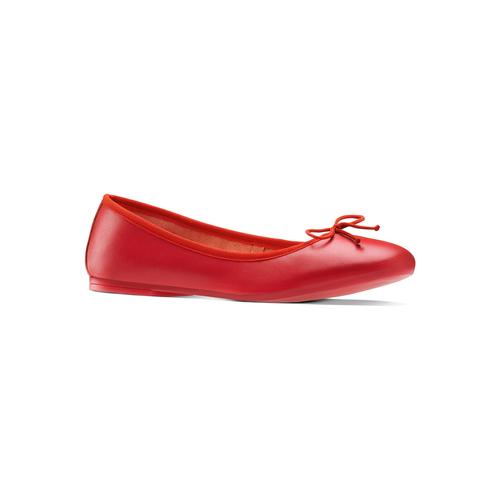 Ballerine da donna bata, rosso, 524-5144 - 13