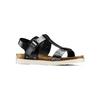 Sandali da donna bata, nero, 561-6295 - 13