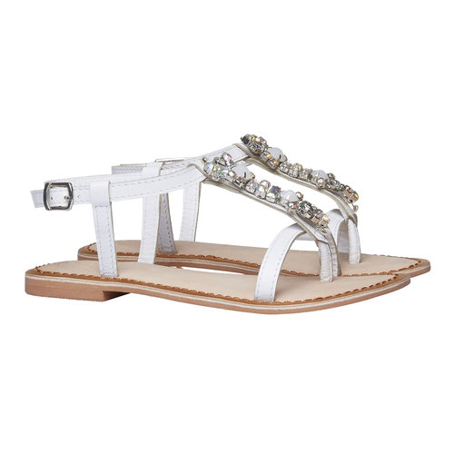 sandalo bimba mini-b, bianco, 364-1163 - 26
