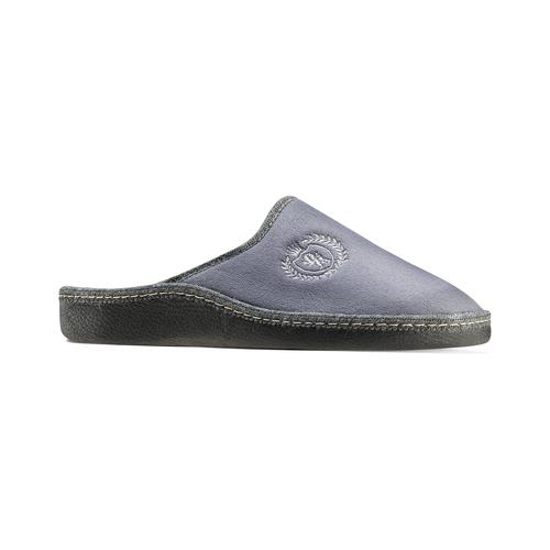 Pantofole da uomo bata, grigio, 879-2165 - 13
