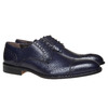 Scarpe basse in pelle di colore blu bata-the-shoemaker, blu, 824-9192 - 26
