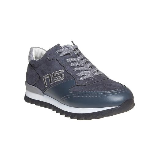 Sneakers da uomo con suola appariscente north-star, grigio, 849-2500 - 13