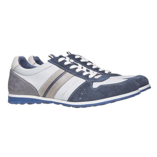 Sneakers informali da uomo bata, grigio, 849-2636 - 26