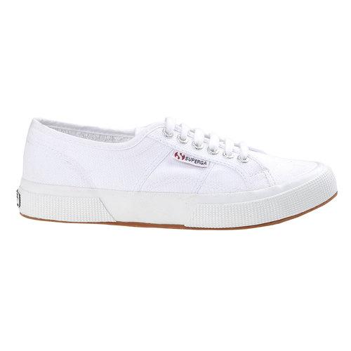 Sport shoe  superga, bianco, 589-0189 - 26