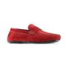 Mocassini in pelle bata, rosso, 853-5180 - 13