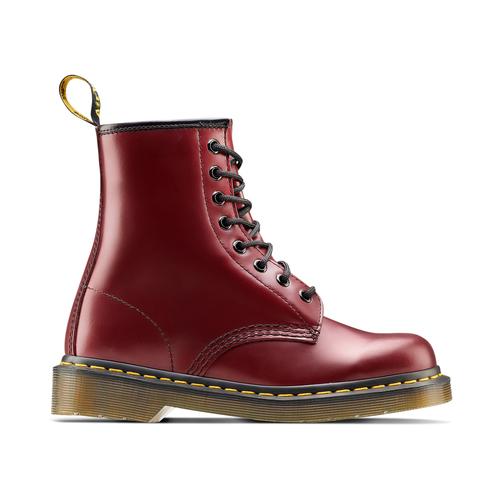 Scarpe in pelle Dr. Marten's alla caviglia dr-martens, rosso, 594-5149 - 26