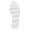 Scarpe basse di pelle con flatform bata, marrone, 524-3255 - 26