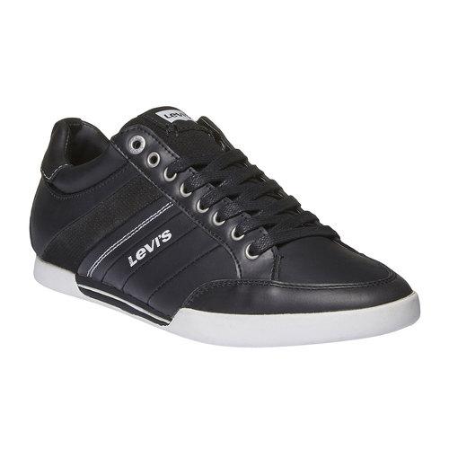 Sneakers di pelle levis, nero, 844-6261 - 13