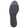 Scarpe basse di pelle con flatform bata, nero, 524-6255 - 26
