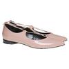 Ballerine con lacci bata, rosa, 521-5211 - 26