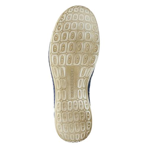 Sneakers di pelle weinbrenner, blu, 546-9238 - 26