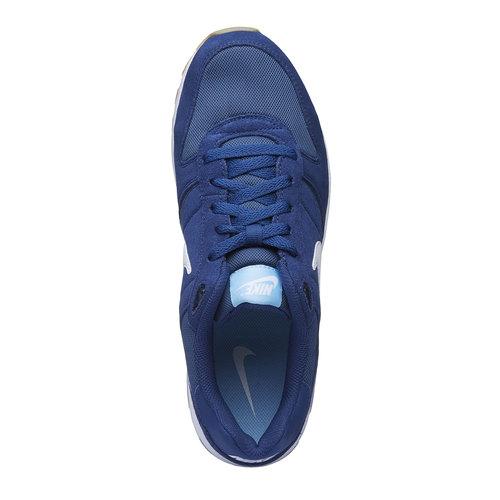 Sneakers Nike di colore blu nike, blu, 809-9326 - 19