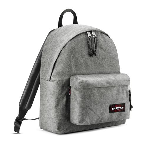 Zaino in tessuto di colore grigio eastpack, grigio, 999-6647 - 13