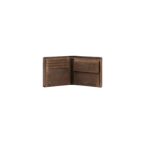 Portafoglio in pelle da uomo bata, marrone, 944-8146 - 16