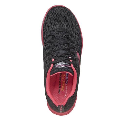 sneaker da donna skechers, nero, 509-6706 - 19